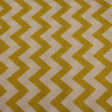 Load image into Gallery viewer, Chevron Fabric / Yellow and White / Quilting Treasures -1 Yard- Cotton Fabric / Quilting Fabric / Quilting Cotton / Zig Zag Fabric