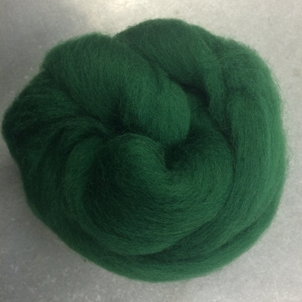 Kiwi Fruit CORRIEDALE Wool Roving - 1 oz - Nuno Felting / Wet Felting / Felting Supplies / Hand Felting / Needle Felting / Fiber Art