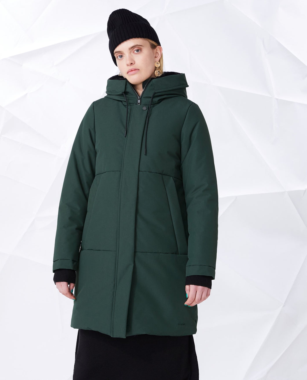 TIRIL JACKE BOTTLE GREEN