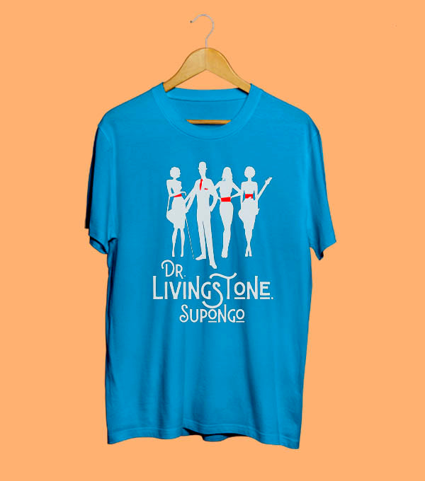 Camiseta Dr.Livingstone de Rock and Fashion
