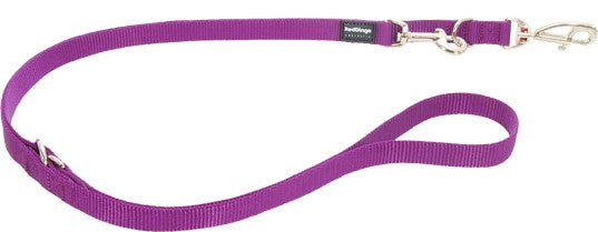 Red Dingo Leine XS 2,00 m / 12mm violett