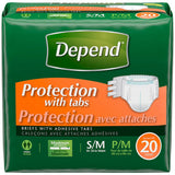 Depend Protection Brief with Tabs