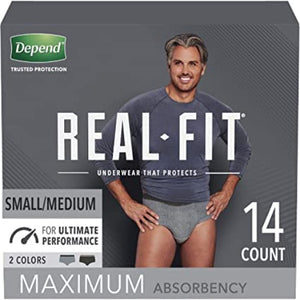 Depend Real-Fit Underwear for Men
