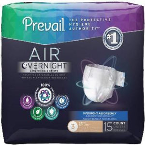 Prevail AIR Overnight Absorbency Brief