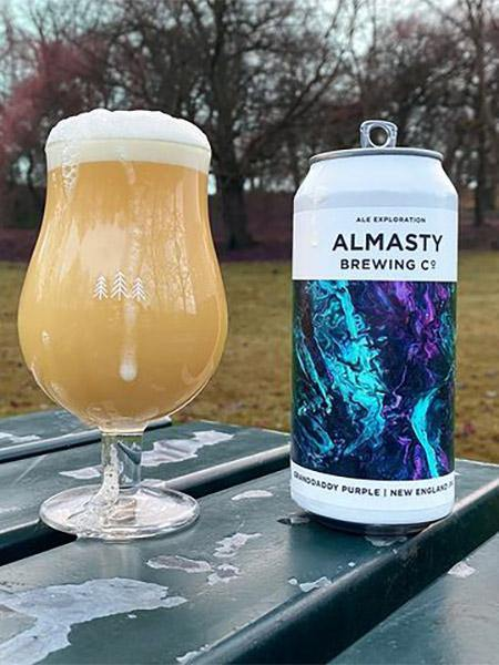 Almasty Brewing Co - Grandaddy Purple