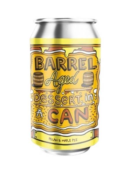 Amundsen - Barrel Aged Dessert in a Can - Pecan & Maple
