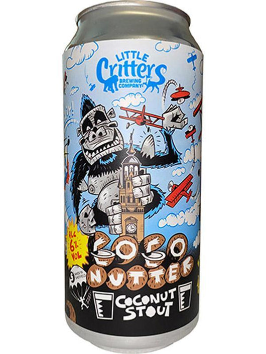 Little Critters Brewing Co - Coco Nutters - Coconut Stout - Craft Beer - The Craft Bar