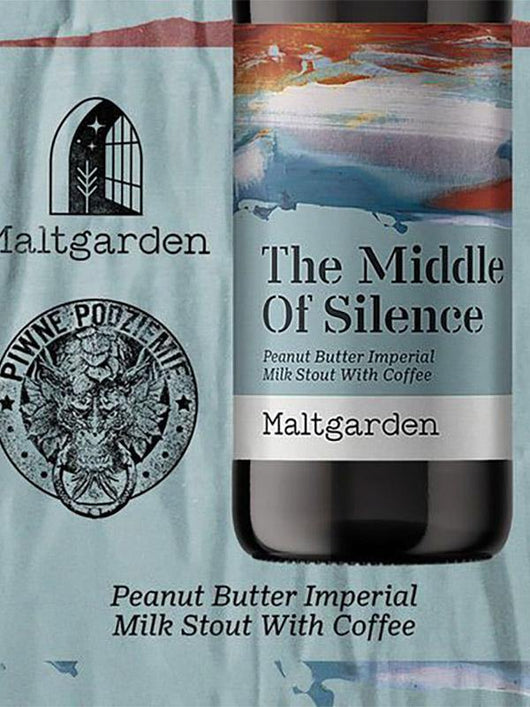 Maltgarden - The Middle of Silence - Peanut Butter Imperial Milk Stout - Craft Beer - The Craft Bar
