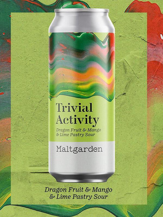 Maltgarden - Trivial Activity - Dragon Fruit Mango and Lime Pastry Sour - Craft Beer - The Craft Bar