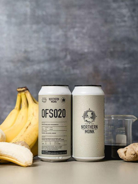 Northern Monk - OFS020 - Banana Molasses Ginger Weizenbock - Craft Beer - The Craft Bar