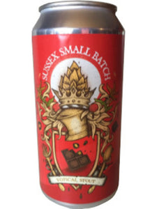 Sussex Small Batch - Topical Stout - Craft Beer - The Craft Bar