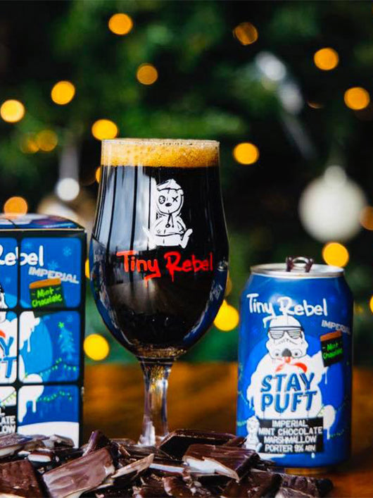 Tiny Rebel - Stay Puft Imperial Mint Chocolate Marshmallow Porter - Craft Beer - The Craft Bar