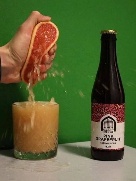 Vault City - Pink Grapefruit Session Sour - The Craft Bar