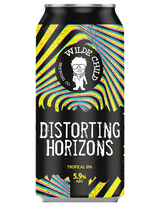 Wilde Child - Distorting Horizons - Tropical IPA - Craft Beer - The Craft Bar