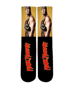 Hulk Hogan Elite sublimated socks - DopeSoxOfficial