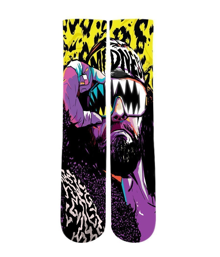 Macho Man Randy Savage Collection Elite sublimated socks - DopeSoxOfficial