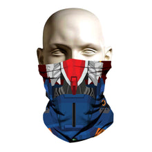 Load image into Gallery viewer, Ski Mask face shield - Robot Tech design
