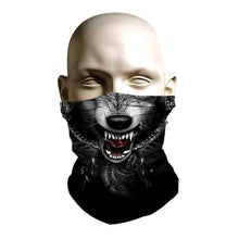 Load image into Gallery viewer, Face Mask - Wolf design