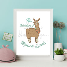 Load image into Gallery viewer, An Adventure... Alpaca Lunch!