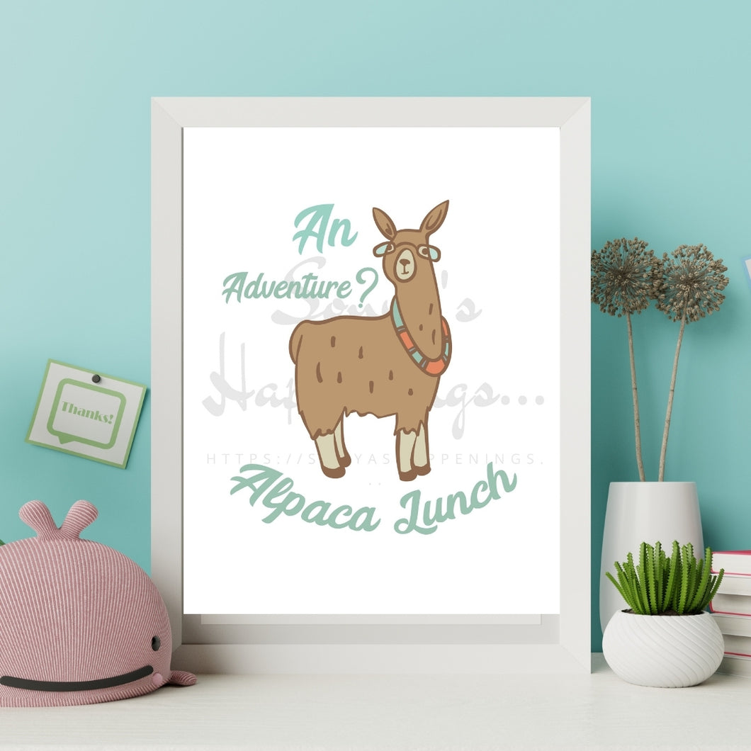 An Adventure... Alpaca Lunch!