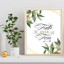 Load image into Gallery viewer, Faith Over Fear  ~ Printable Wall Art