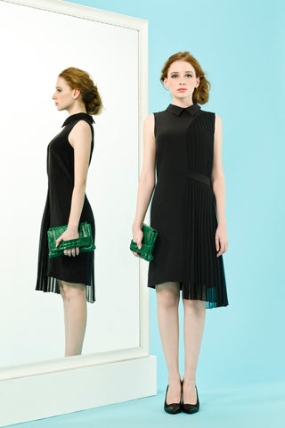 CARMEN DRESS - BLACK