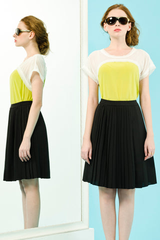 GINETTE TOP - YELLOW
