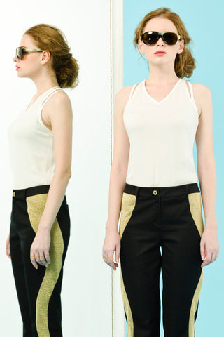 GENEVA TOP - WHITE