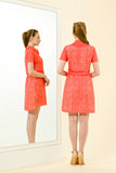 NICOLE DRESS - ORANGE