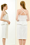 NICOLETTE TOP - WHITE