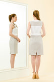 YASMIN DRESS - GREY