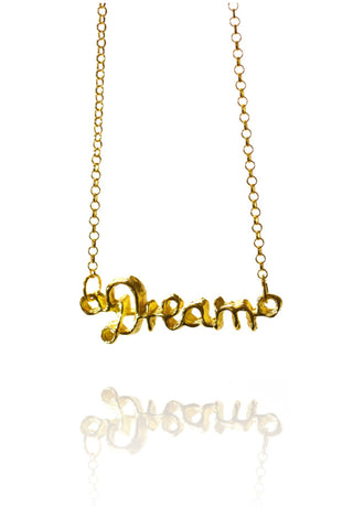 GOLD DREAM PENDANT NECKLACE