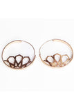 NUMA EARRINGS ROSE GOLD