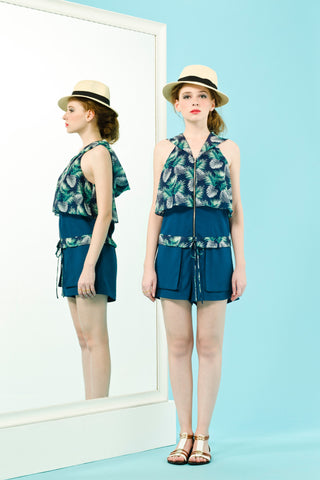 CARRIE PLAYSUIT - GREEN