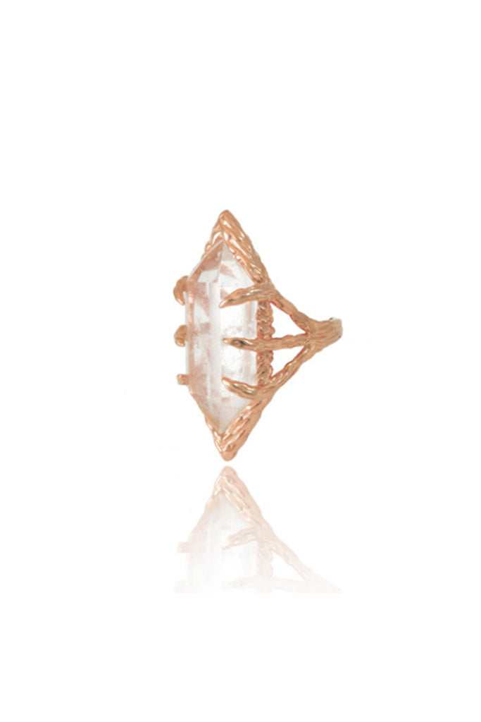 STARDUST RING - ROSE GOLD