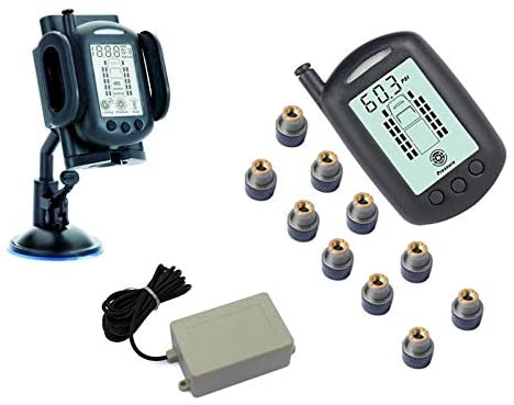 REACH RV 10 WHEEL TPMS SYSTEM WITH SIGNAL BOOSTER