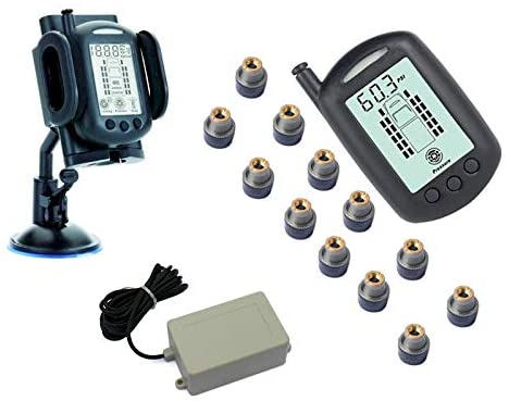 REACH RV 12 WHEEL TPMS SYSTEM WITH SIGNAL BOOSTER