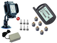 REACH RV 6 Wheel TPMS System with Bonus Tire Valves and Signal Booster