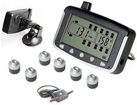 VISTA, RV MOTORHOME TRUCK TRAILER TPMS 6 WHEEL SYSTEM WITH SIGNAL BOOSTER