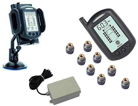 REACH RV 8 WHEEL TPMS SYSTEM WITH SIGNAL BOOSTER
