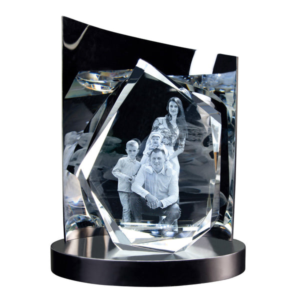 3D Glasfoto DIAMOND