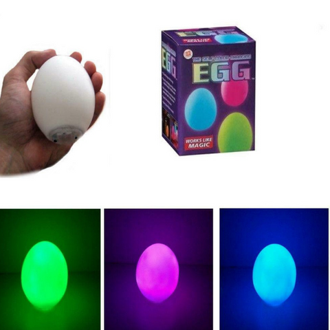 Color Changing Egg 3 inches Night Light Toy For Kids