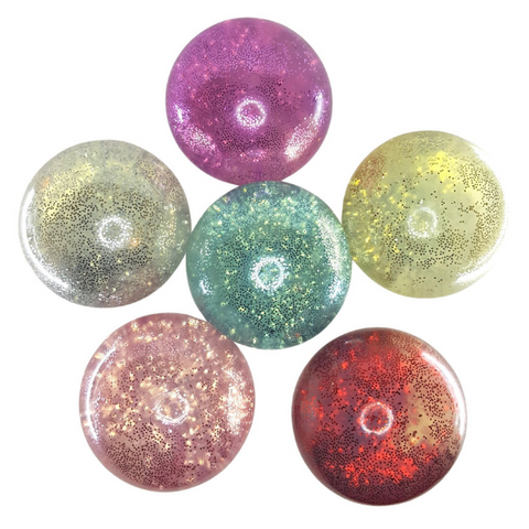 Jumbo 4 in Stress Ball Water Filled Sparkle