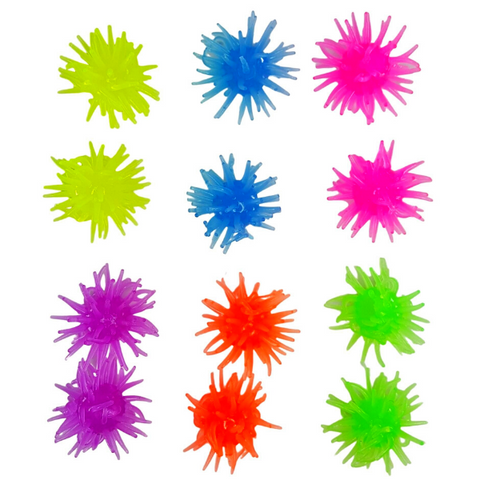 Clingy Sticky Wall Crawler Toy Small 12 Pack