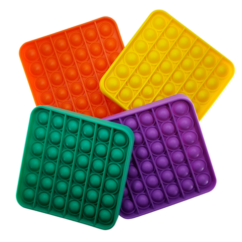 Pop It Square 5 x 5 inches Assorted Colors