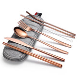 Reusable Eating Utensils Set