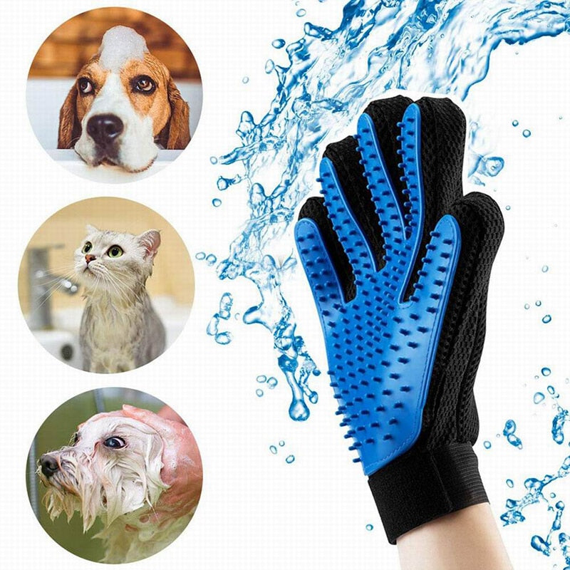 High Quality Pet Comb Self Cleaning Brush Professional Grooming Brush for Dogs and Cats Pet Glove Dog Bath Cat Cleaning Supplies