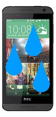 HTC Desire 610 Liquid Damage Repair