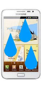 Samsung Galaxy Note 1 Liquid Damage Repair
