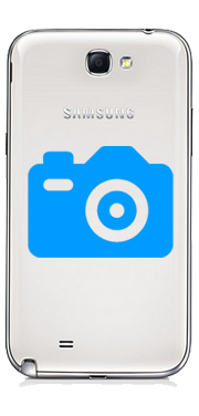 Samsung Galaxy Note 2 Rear Camera Repair